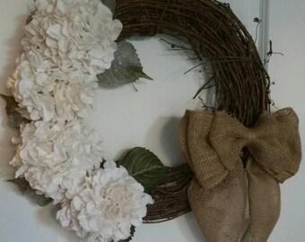 Winter Grapevine Wreath - Decorative Grapevine Wreath
