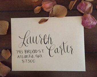 Party Invitation Calligraphy
