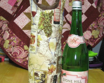 Wine gift bag/carrier