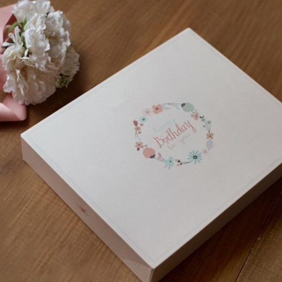 Gift box set / Floral Box / Large paper boxes / wedding gift ...