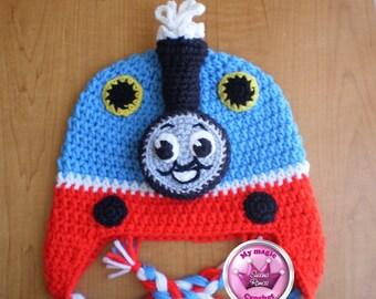 Thomas Crochet Hat Made with Soft yarn