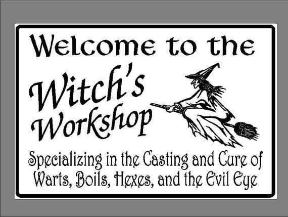 White Kitchen Witch Black Wall