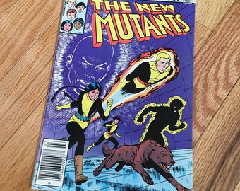 Vintage Marvel Comics The New Mutants Vol 1, Issue #1 in very good condition