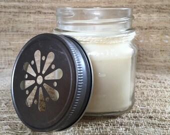 Unscented Candle-Mason Jar
