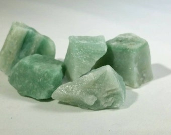 Green Aventurine~Medium~Raw Healing Crystals~Brazilian Crystals~Prosperity~Crystals~Gemstones~Healing Crystals~Using Gemstones for Healing