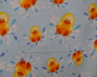 Rubber Ducky Fleece Blanket