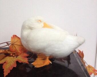 Needle Felted Pekin Duck