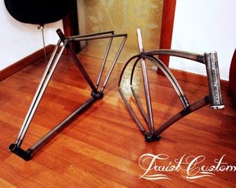 Custom bike frames - telai custom su misura Twist Customs