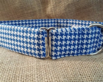Royal Houndstooth Martingale Collar