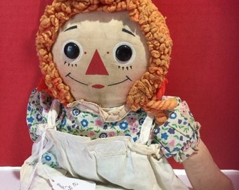 Raggedy Ann with Ombre Hair