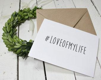 Boyfriend Card, Boyfriend Birthday Card, Girlfriend Card, Girlfriend Birthday Card, Boyfriend Gift, Love Card, Anniversary Card for Husband