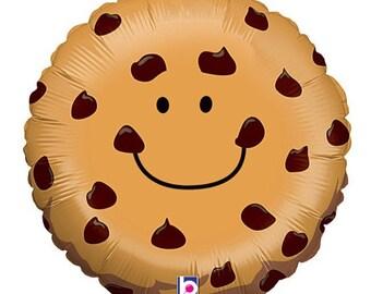 "Cookie Balloon, Chocolate Chip Cookie, Balloon, 21"", Party Birthday Wedding Seasame Street Stagette Shower Jumbo"