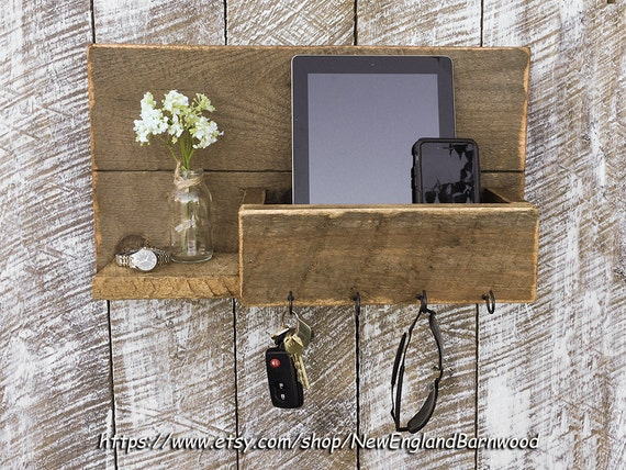 Gone Home Foyer Key : Entryway mail organizer key wall rack