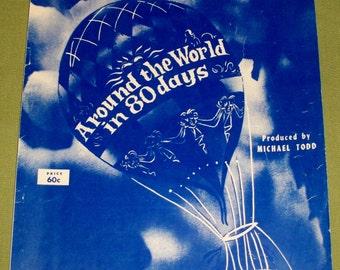 Around The World in 80 Days Sheet Music 1956