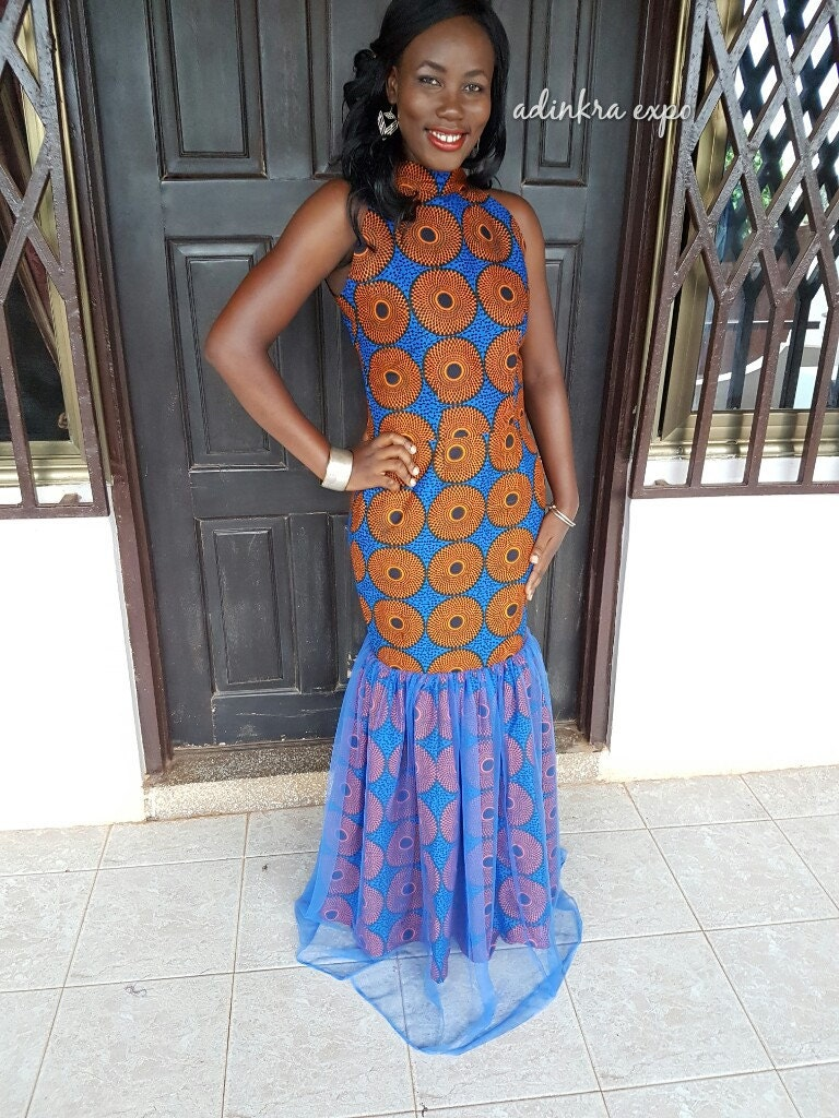 Images of african print formal dresses it s all about fashions