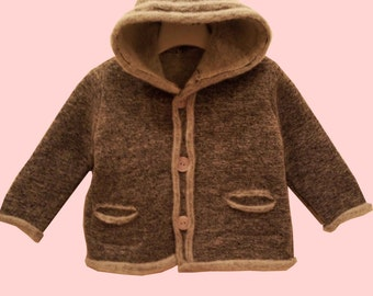 SALE 50%  Children's jacket made of 100% wool