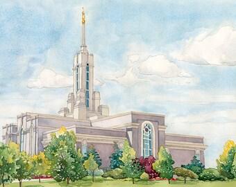 Mount Timpanogos, UT ( LDS) Temple