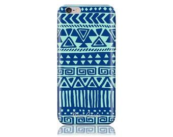 iPhone 5 iPhone SE Case SS Blue Mint Cool Design Hard Phone Case