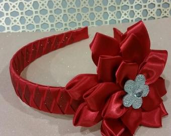 Red headband