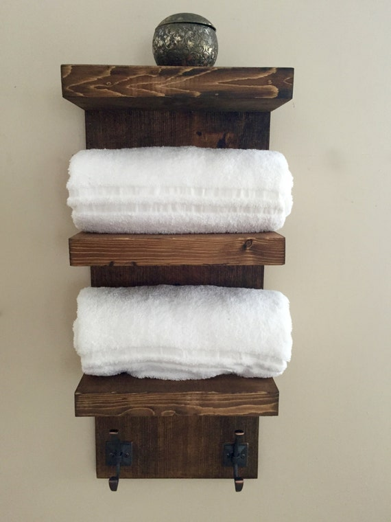 Bathroom Towel Rack 3 Tier Bath Shelf Hotel By