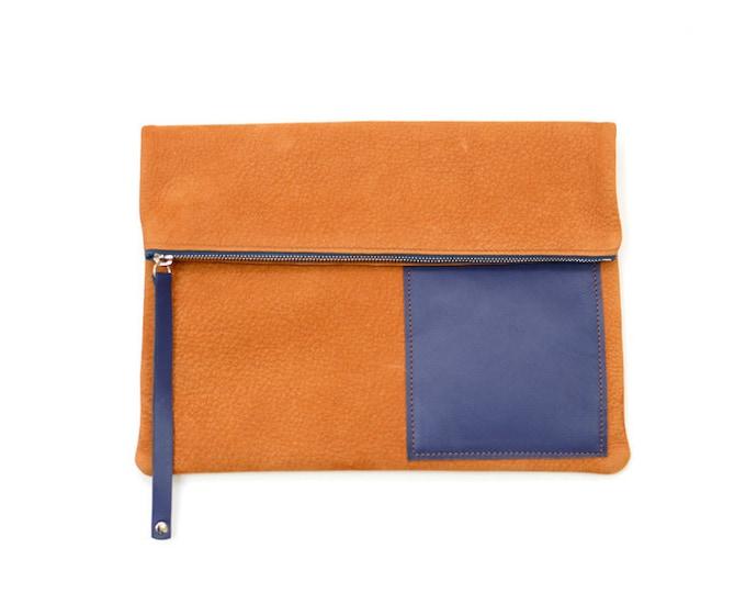 SIMON leather pouch