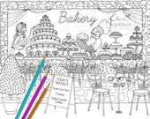 Coloring Page - Color Me Sweet