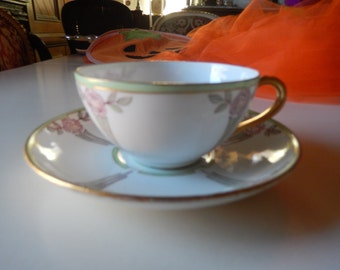 GERMANY J & C Teacup and Saucer