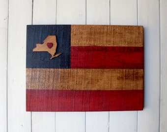 """Americana """"Your State""""  Flag"""