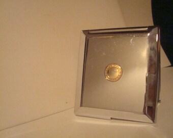 Vintage art deco compact mirror