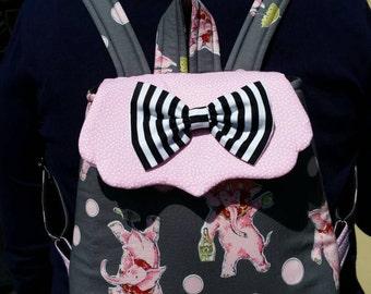 Mini backpack, Disneybound, (made to order)