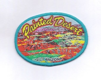 Vintage Painted Desert Arizona Patch