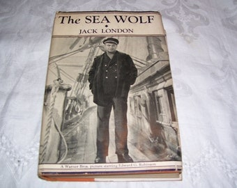 The Sea Wolf by Jack London Vintage 40s