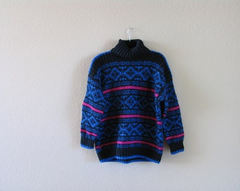 Vintage Turtleneck Sweater Size Medium