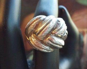 Sterling silver vintage estate ring