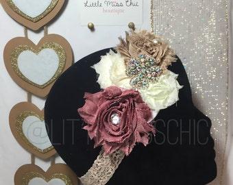 Fall Inspired Lace Headband