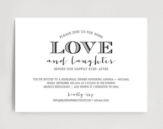 Who Is Invited To The Wedding Rehearsal Dinner: Rehearsal Dinner Invitation Wedding Rehearsal Dinner