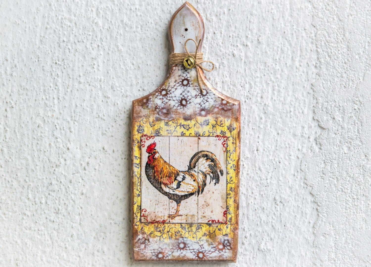 Rustic Rooster Wall Decor : Farmhouse decor rooster kitchen country