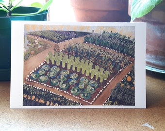 Community Garden greeting card