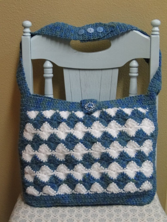 Free Crochet Shell Purse Pattern : Sun Shell Purse crochet pattern