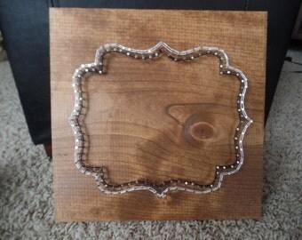 String art frame