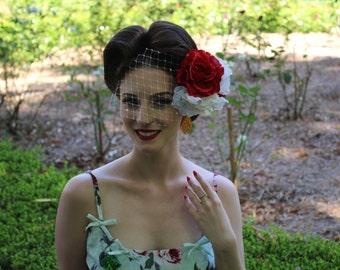 Lady Morgana Valentines Day Fascinator
