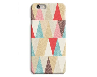 Simple Triangle Points iPhone Case Plastic Snap Case iPhone 6 6 Plus / iPhone 5 5S / iPhone 5C / iPhone 4 4S \ HC-JJ218