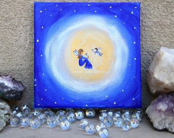 Mother Moon Original Painting