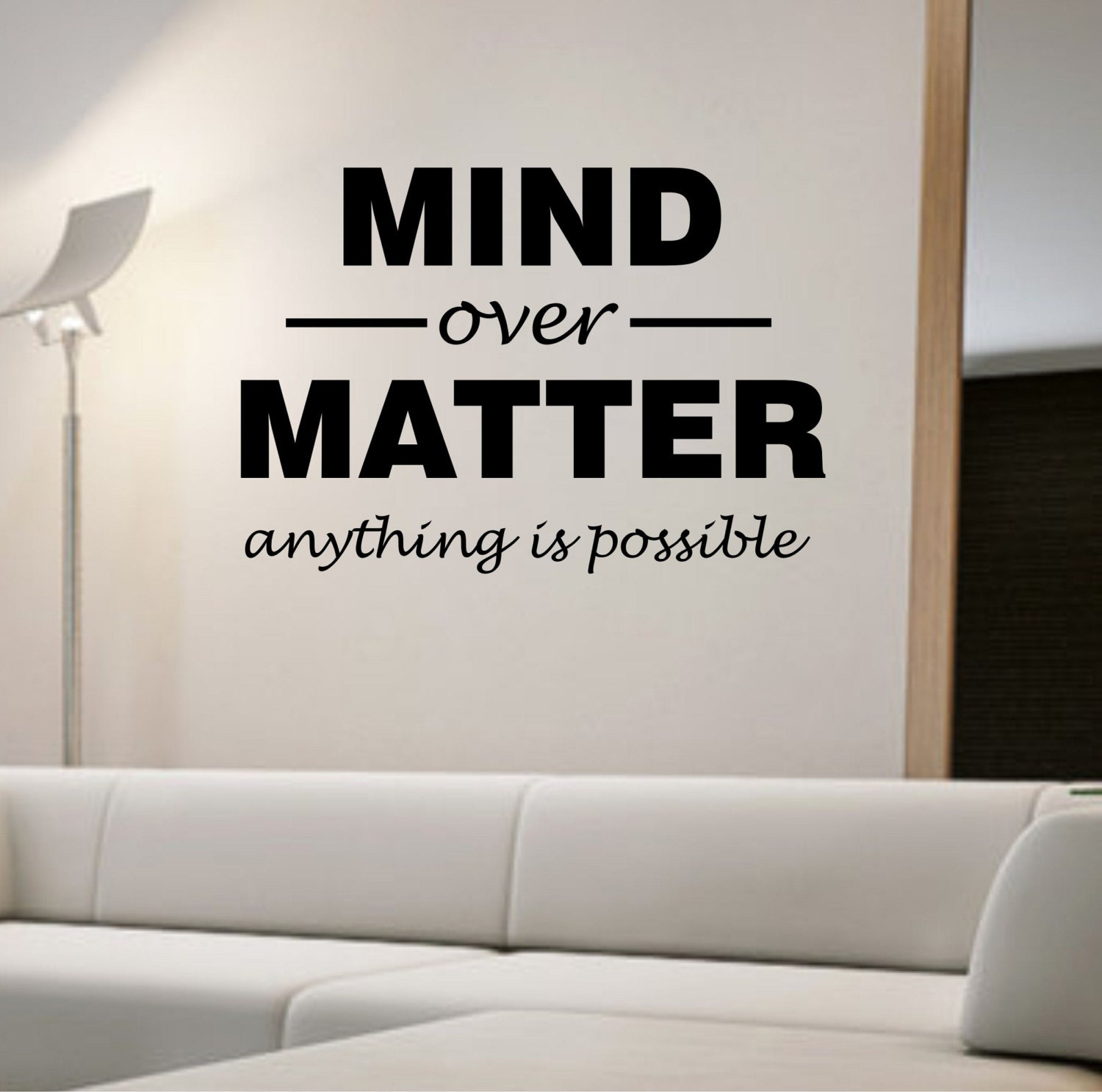 mind over matter These thoughts have definitely passed through your brain each time you've hit  the gym allow us to help push those mental limits in the mind over matter crew.