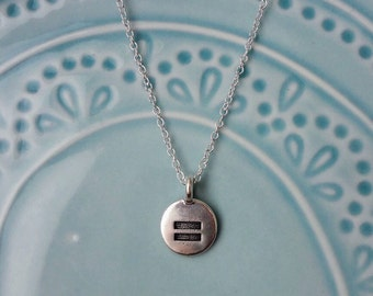 Equality Necklace, Equal Rights Jewelry, Equal Sign, Dainty, Silver or Gold Necklace, Gay Rights, LGBTQIA+, Gay Marriage, Feminist Activist