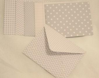 Handmade Envelopes - All Gray