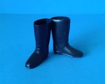 "Vintage Gabriel Lone Ranger "" Black Boots "" 1970's"