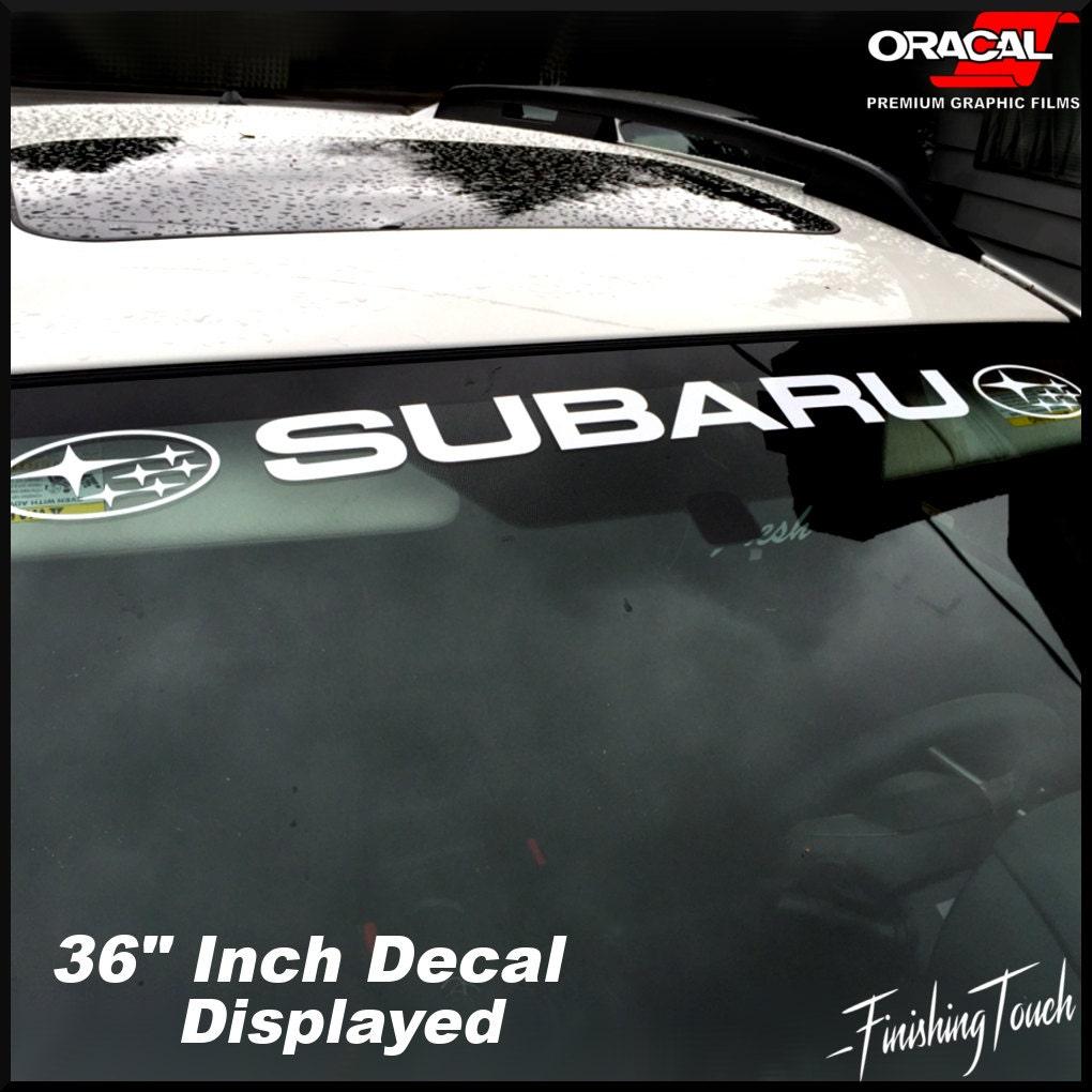 Subaru Windshield Banner Sticker Decal Vinyl Graphic any size