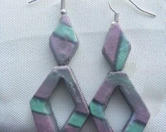 Diamond Cutout Earrings