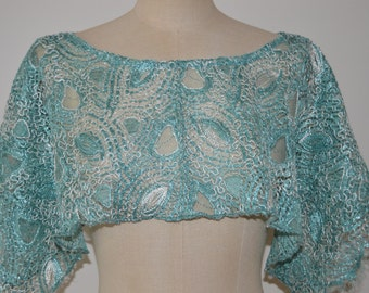 Cache married shoulder, married lace poncho